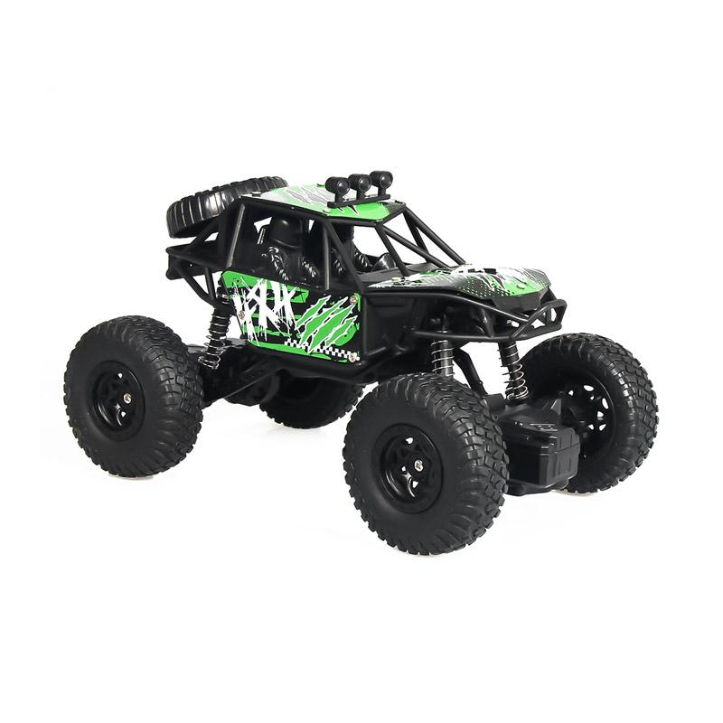 Jual Eds Rc Car High Speed Off Road Vehicles Remote Control Green 2 4ghz Online Februari 2021 Blibli