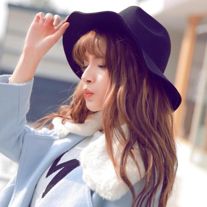 Jual Best Europe And The United States British Wind Jazz Cap Autumn And Winter Fashion Leisure Wide Canopies Online November 2020 Blibli