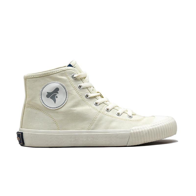 Brodo Vulcan Hi Sepatu Sneakers Pria Off White