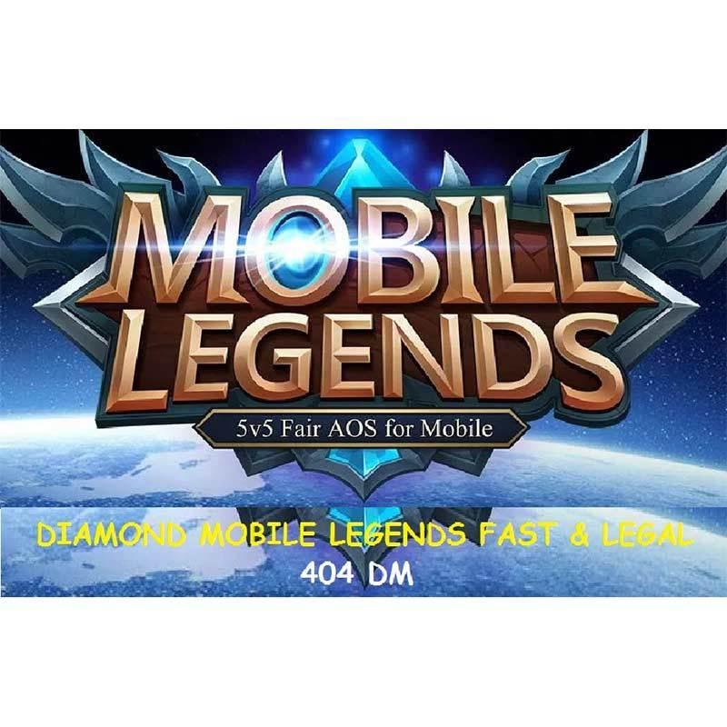 Mobile Legends Diamond Fast Legal 404 DM