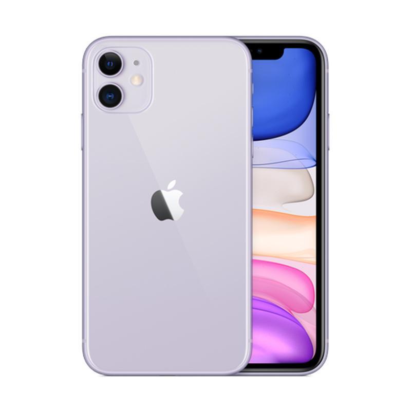 harga Apple iPhone 11 (Purple, 64 GB) Blibli.com