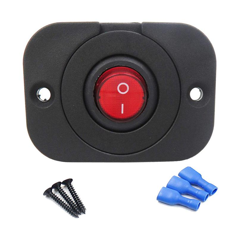 ATV on /& off with LED red waterproof 4x4 high amp accessory SWITCH