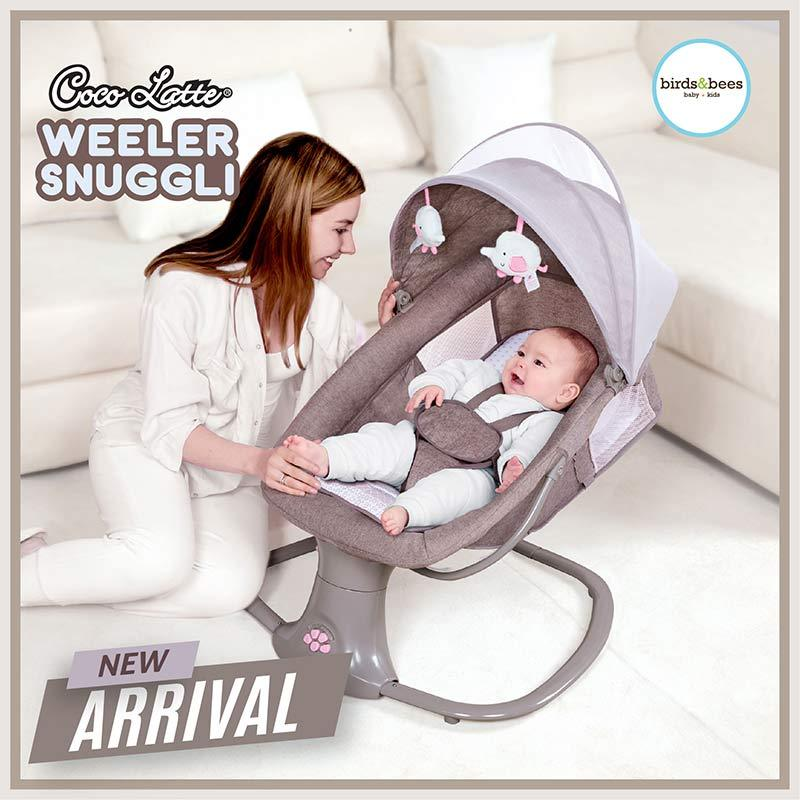 Cocolatte Weeler Swing Snuggli Baby Bouncer