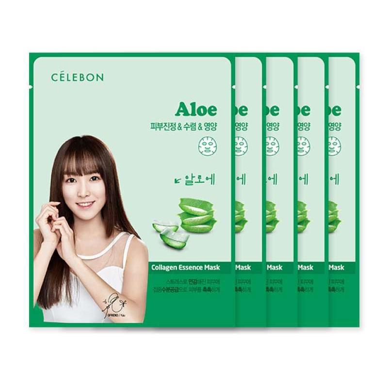 Celebon Aloe Collagen Essence Mask