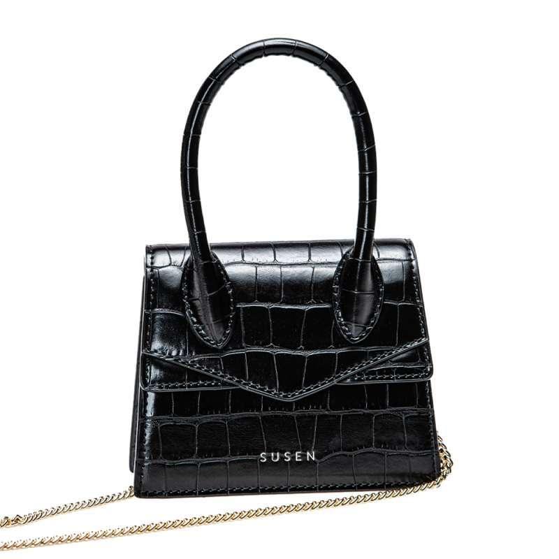 Susen Bags Micro Croco Embossed Bag Tas Wanita