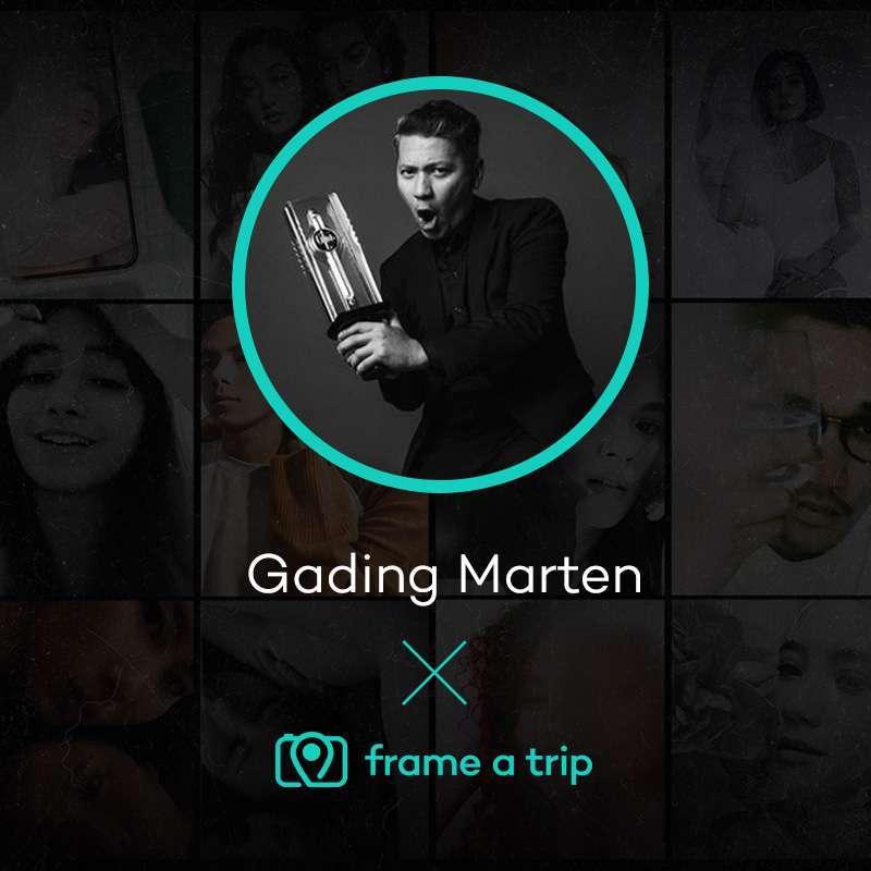 Frame A Trip Paket Sesi Foto Virtual dengan Gading Marten 1 Jam