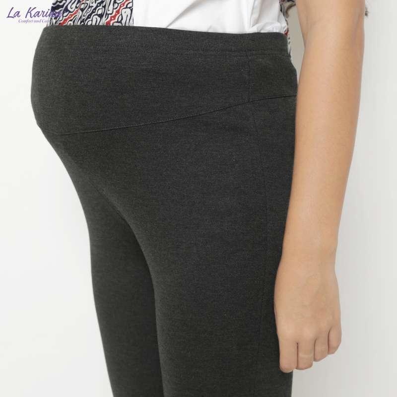 Jual La Karina Celana Legging Hamil Dgn Karet Elastis Adjustable Kathryn K 04009 Dark Grey Online Oktober 2020 Blibli Com