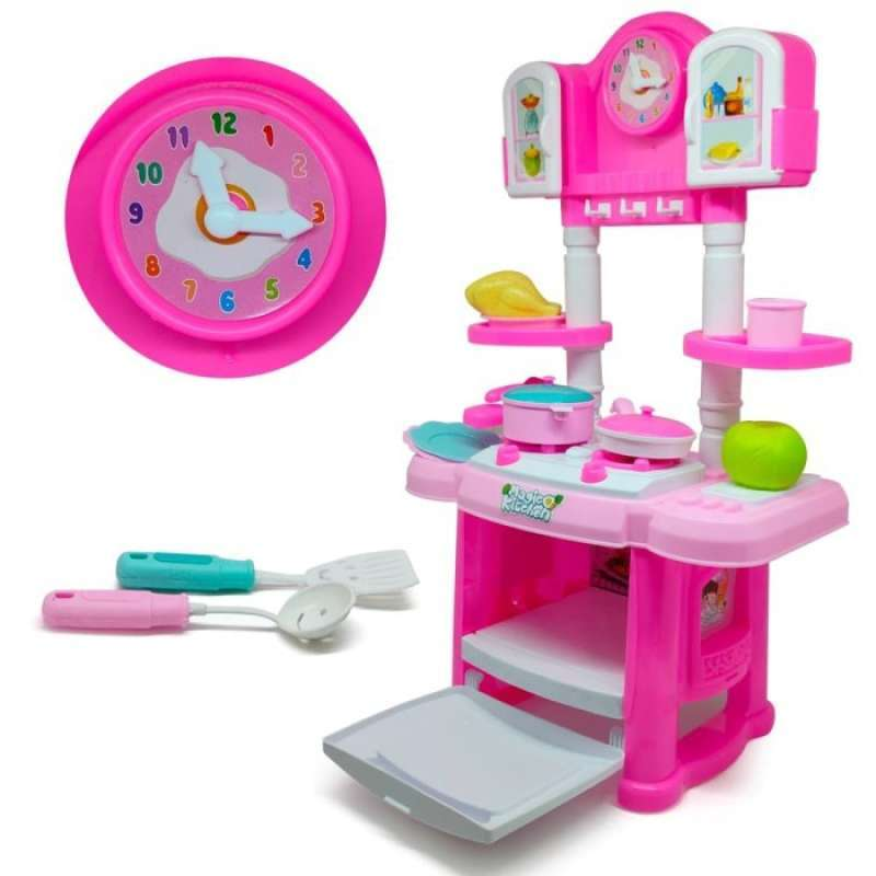 Jual Mainan Anak Perempuan Masak Masakan Magic Kitchen Set Oct 2036 Online Oktober 2020 Blibli Com