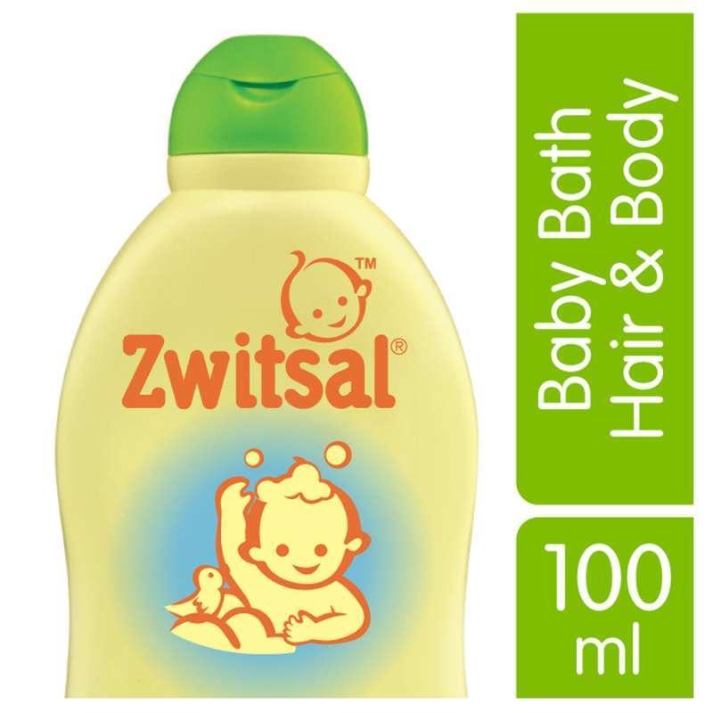 Zwitsal Natural Baby Bath 2in1 Hair & Body 100ml