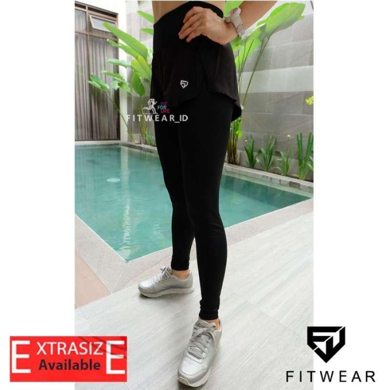 Jual Celana Lari Wanita Inner Legging Fitness Yoga Zumba Fitwear Layered Online Oktober 2020 Blibli Com