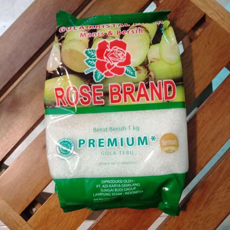 Jual Rose Brand Gula Pasir Kristal Putih Manis Rosebrand 1kg 1 Kg Kilo Premium Online November 2020 Blibli Com