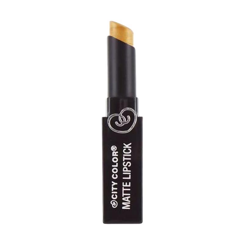 City Color Matte Lipstick - Gold
