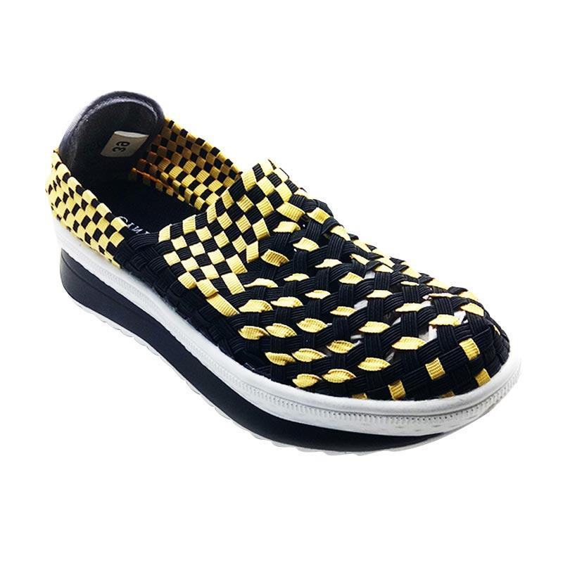 Cyntia H4200 Sepatu Rajut Wanita - Hitam