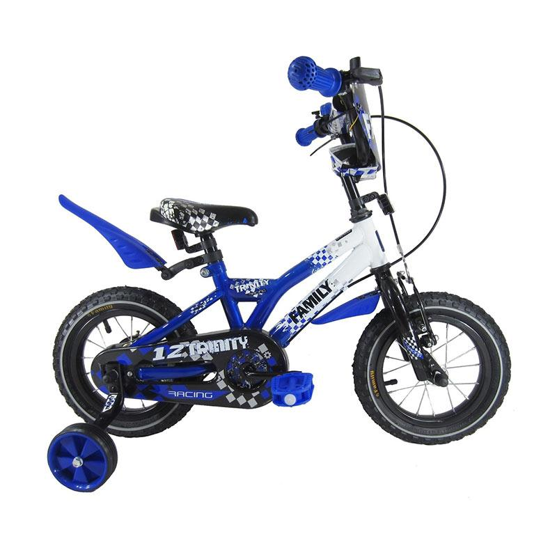 harga Family Trinity Sepeda Anak - Biru [12 inch] Blibli.com