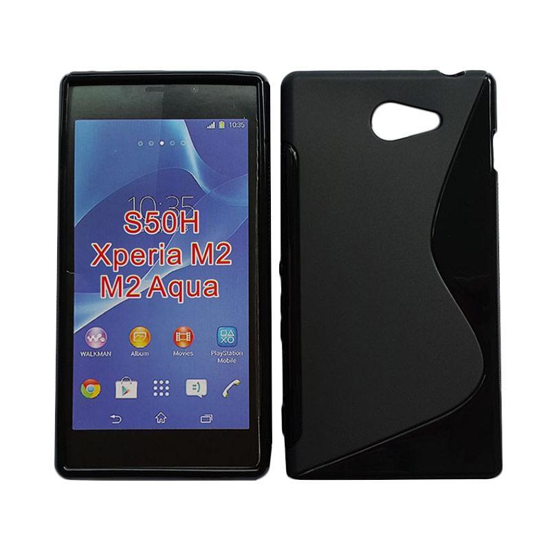 harga SLine Silikon Casing For Sony Xperia M2 Blibli.com