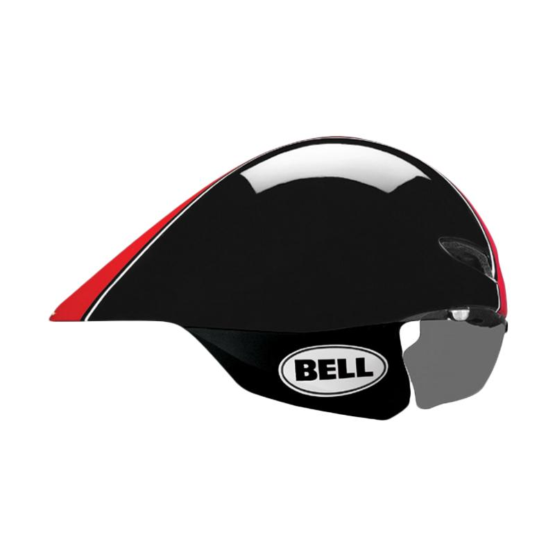Bell BS Javeline Star L 14 US Helm Sepeda - Black Red 7039717