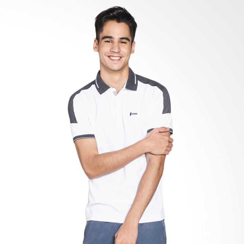 Hammer Polo Fashion L1PF387W1 Kaos Polo - White Black
