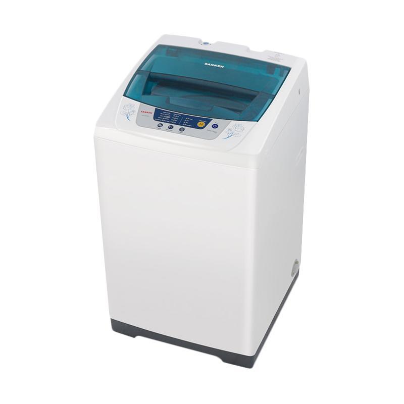 Sanken AW-S830 Mesin Cuci - Biru [1 Tabung/7 kg]