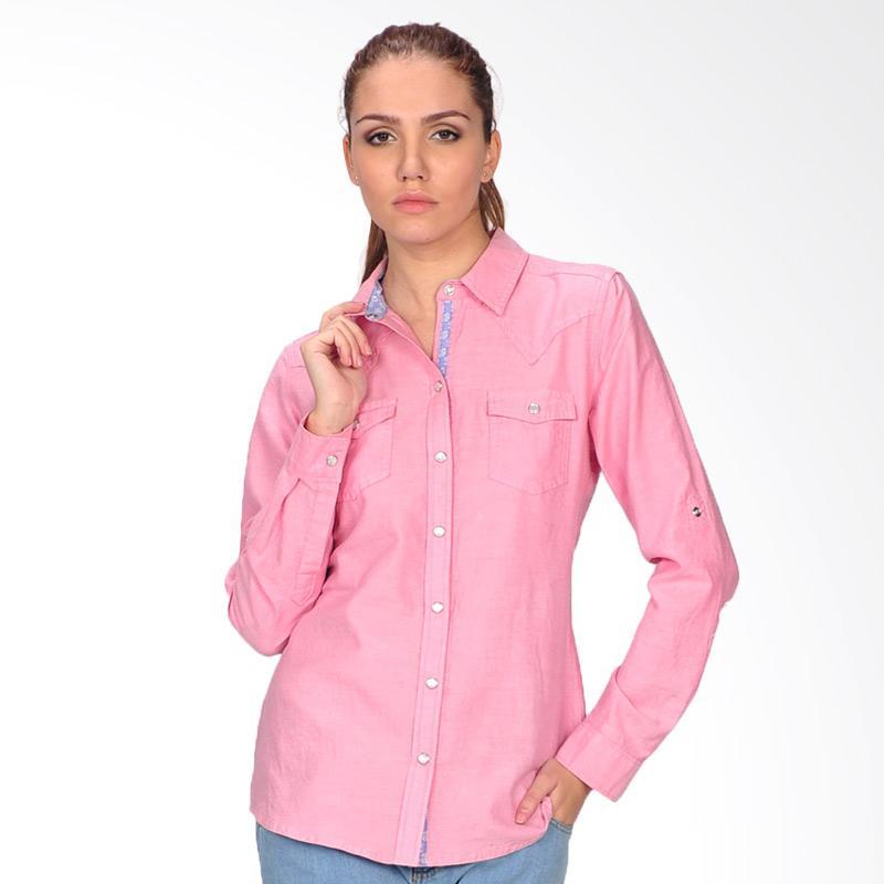 SJO & Simpaply Chambray Women's Shirt - Pink