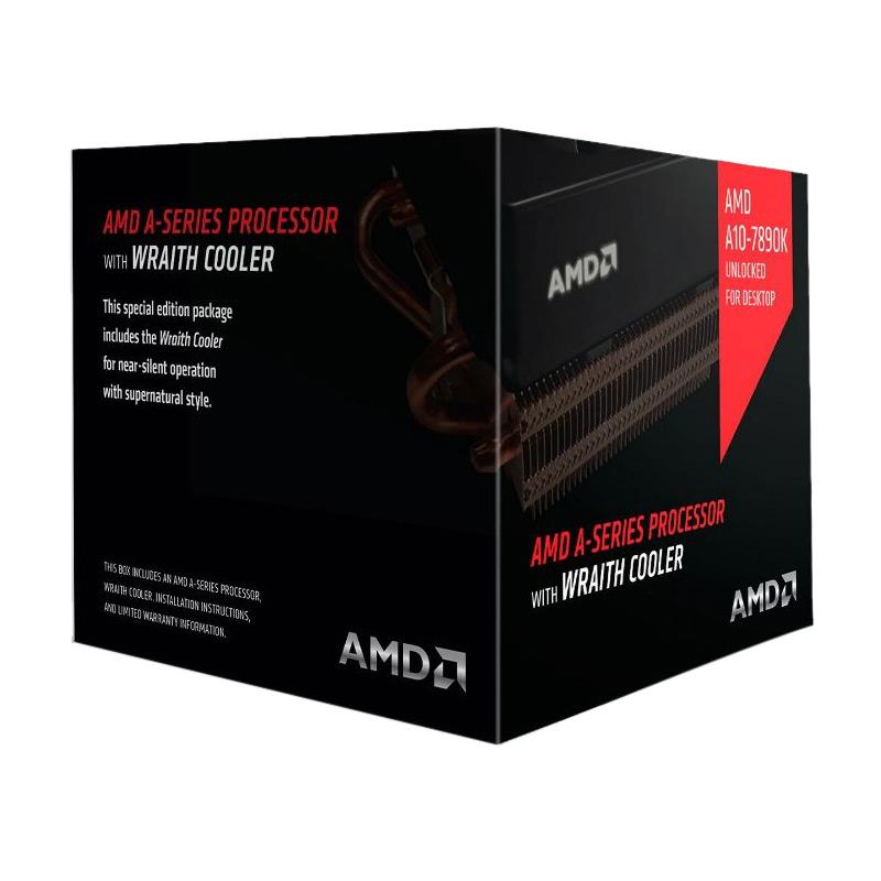 AMD A10 7890K Processor with AMD Wraith Cooler