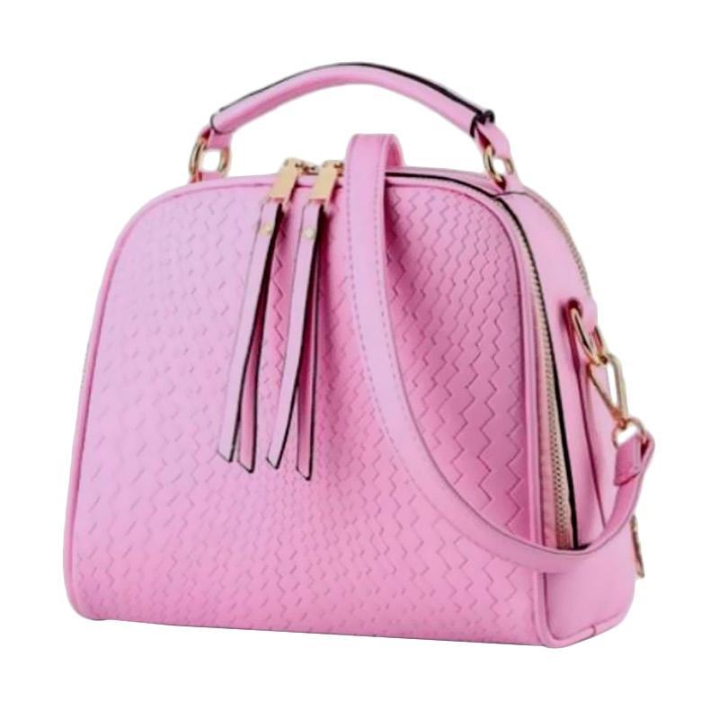 Annies Fashion Ridena Tas Wanita - Pink Pastel