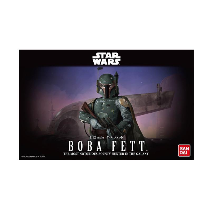 Bandai Star Wars Boba Fett Action Figure [1 : 12]