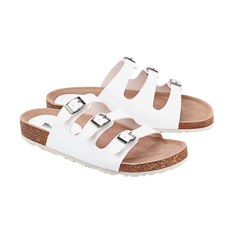 Blackkelly LIS 721 Sandal Flats - Putih