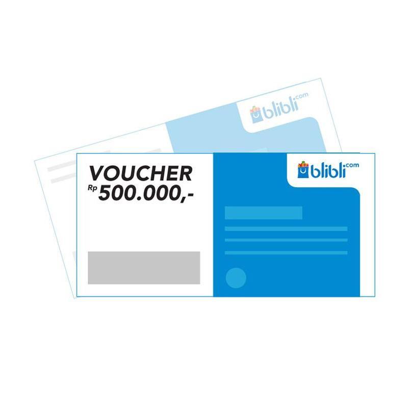 Blibli Gift Card Physic Voucher [Rp 500.000]