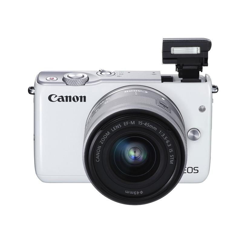 Canon EOS M10 with EF-M15-45mm+22mm Kamera Mirrorless - White - 9306400 , 15725005 , 337_15725005 , 6904000 , Canon-EOS-M10-with-EF-M15-45mm22mm-Kamera-Mirrorless-White-337_15725005 , blibli.com , Canon EOS M10 with EF-M15-45mm+22mm Kamera Mirrorless - White