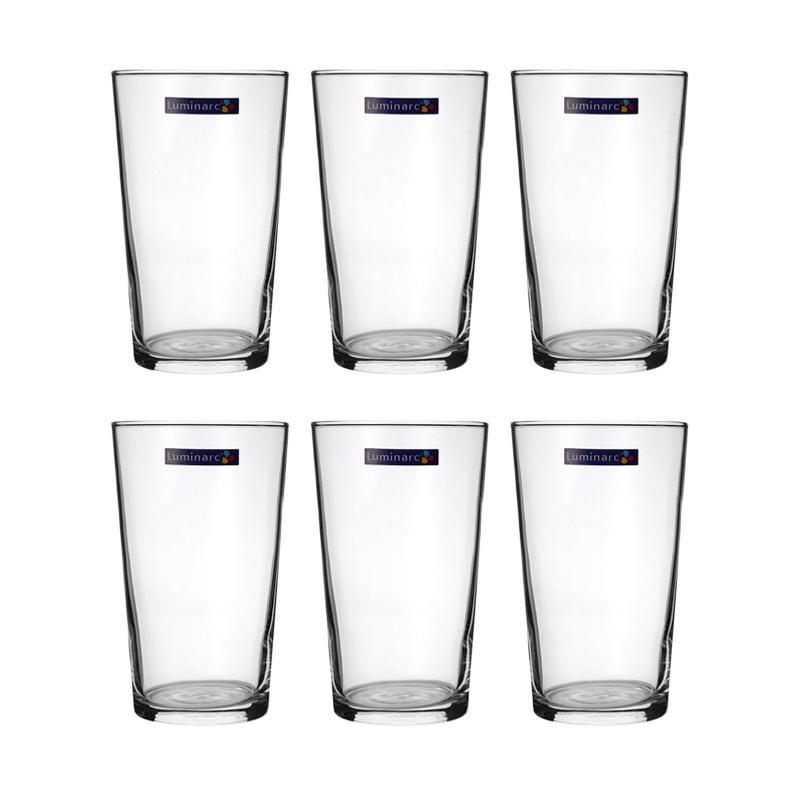 Luminarc Conique Set Gelas [28 Cl/6 pcs]. Brand: Luminarc ·