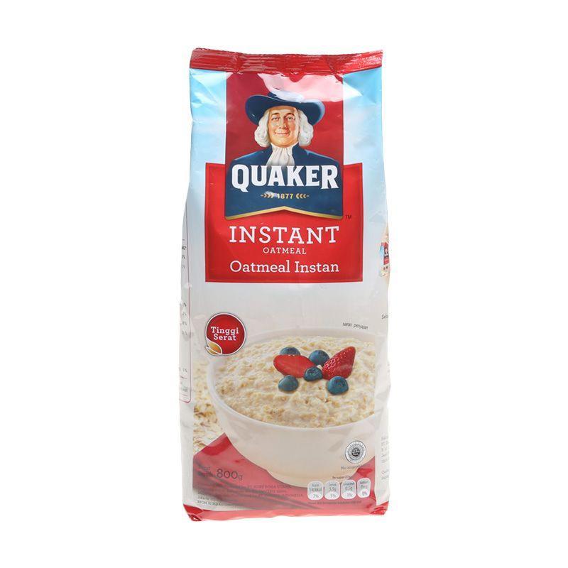 harga Quaker Oat Instant Menu Sarapan [800 gr x 2pcs] Blibli.com