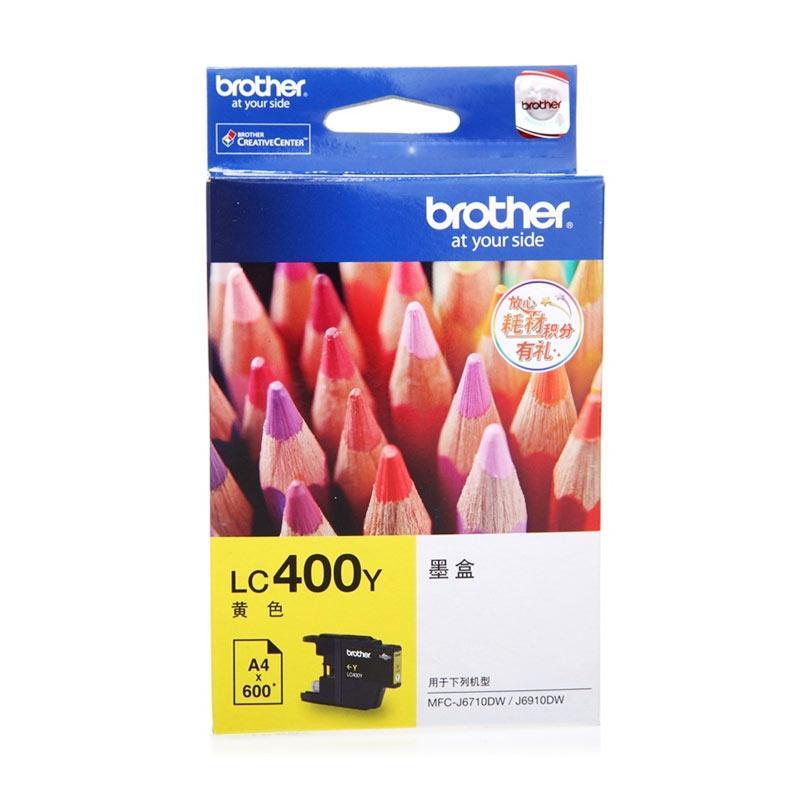 Brother LC 400 Tinta Printer - Yellow