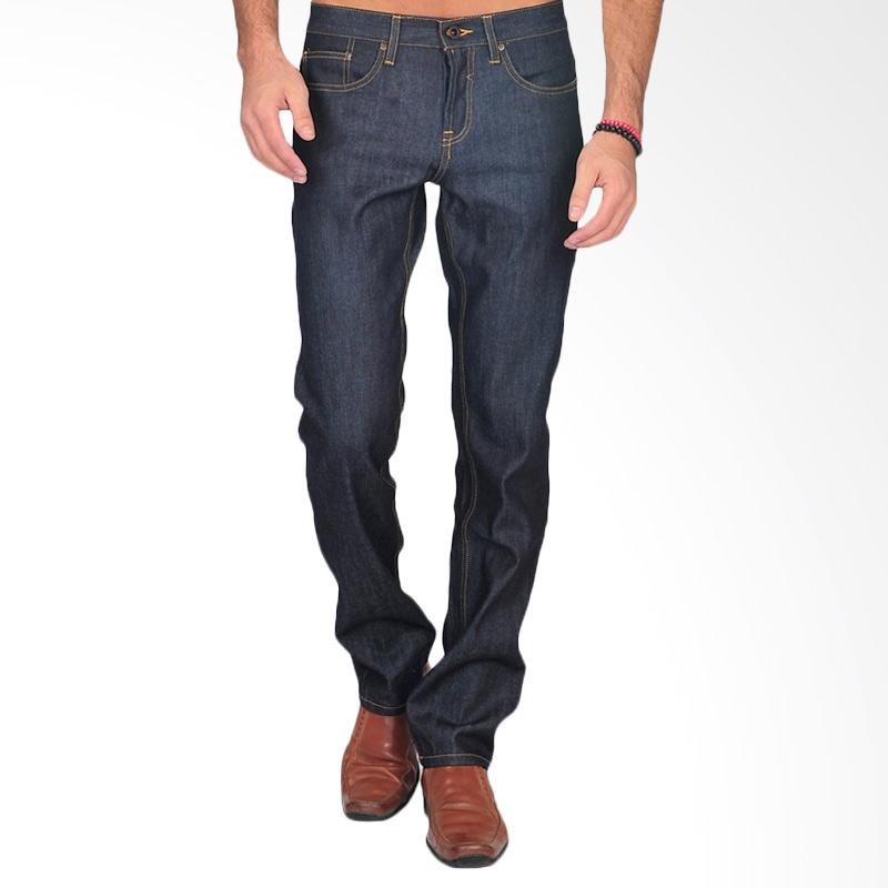 SJO & SIMPAPLY Raw Men's Jeans Denim - Blue Black