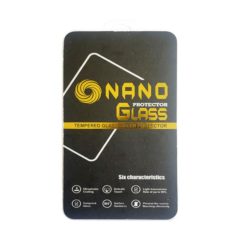 Nano Tempered Glass Screen Protector for Asus Zenfone 4 - Clear