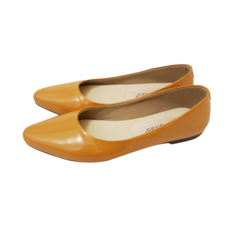 Tamanara Flat Shoes Sepatu Wanita - Taper Tan