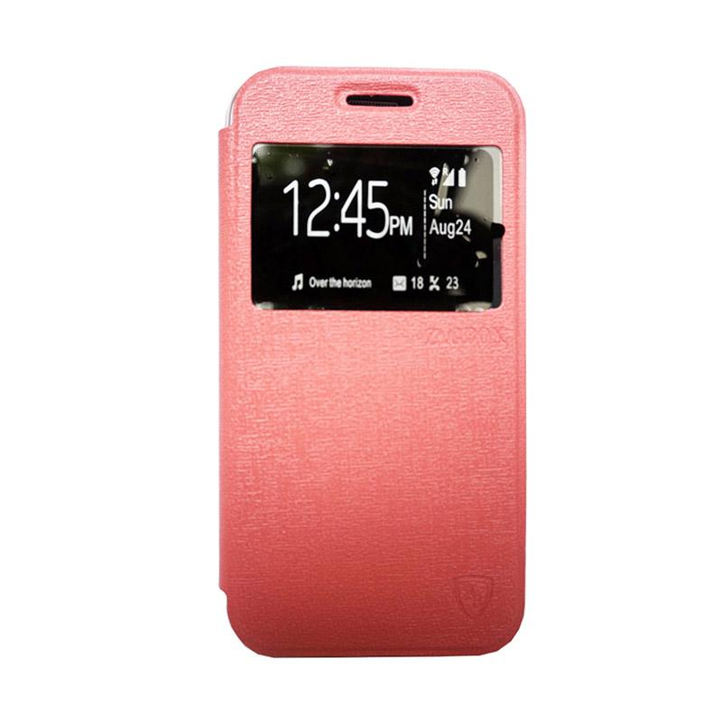 ZAGBOX Flip Cover Casing for Coolpad Star - Pink