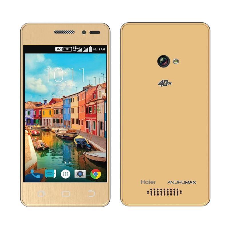 Andromax A Smartphone - Gold [8GB/1GB/GIS]