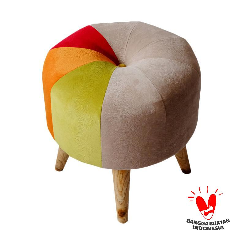 Ayoyoo Rainbow Slice Moon Stool