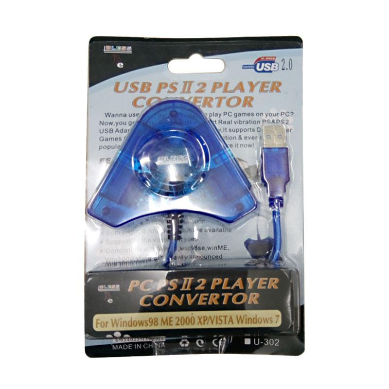 Bless USB PS2 Two Player Convertor