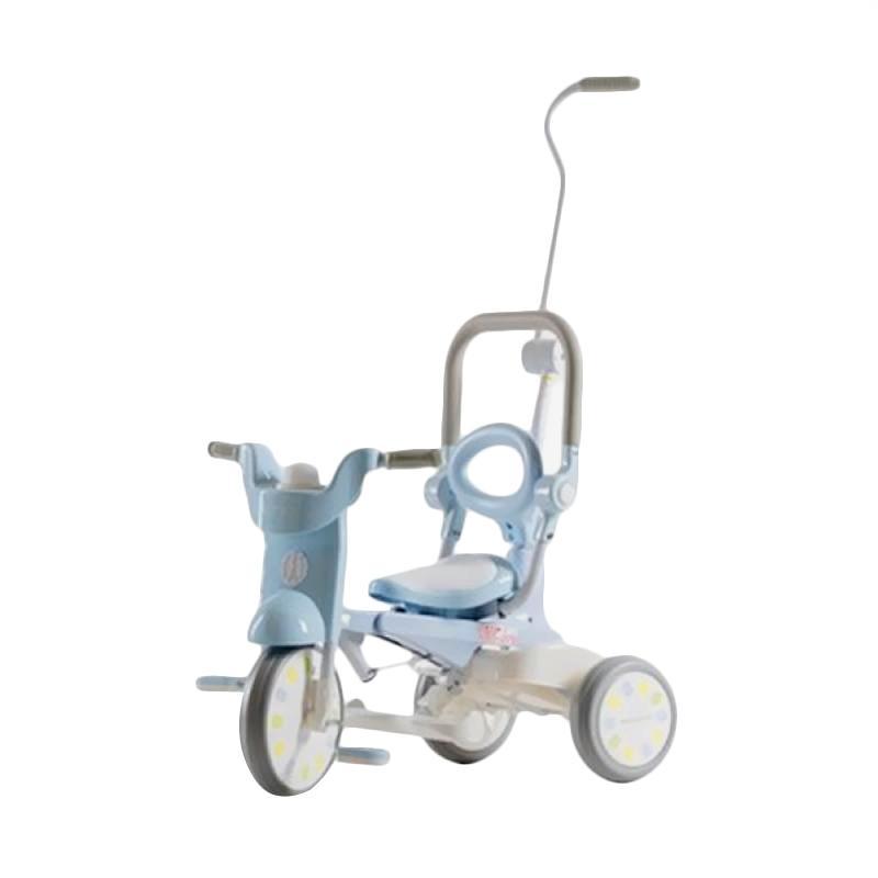 IIMO Tricycle Sepeda Lipat Roda Tiga  - Macaron Blue