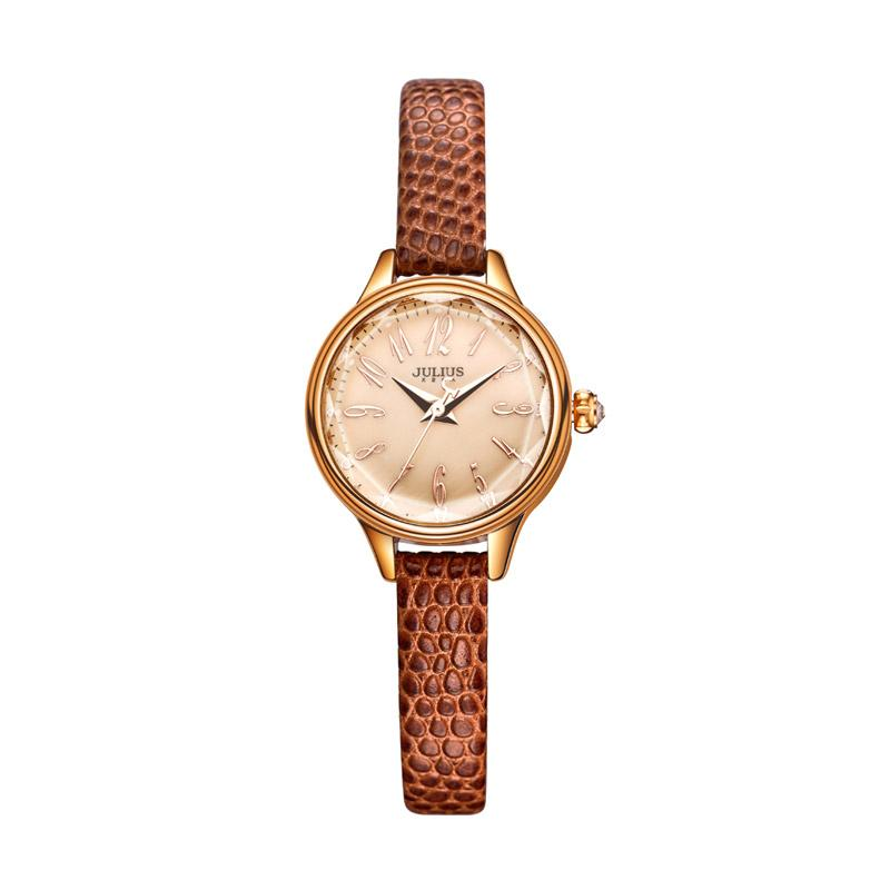 Julius JA-932-E Jam Tangan Wanita - Brown