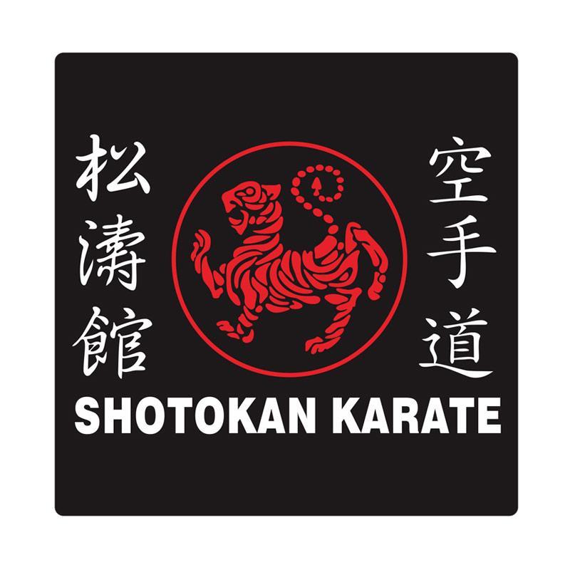 Kyle Shotokan Double Line Cutting Sticker