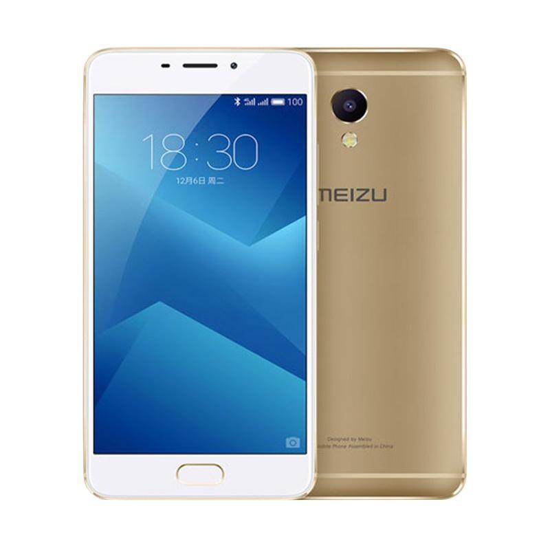 Meizu Note 5 Smartphone - Gold [32GB/ RAM 3GB]