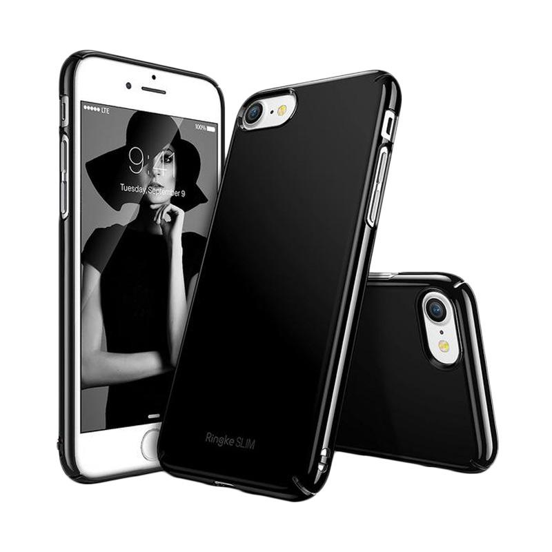 Ringke Slim Casing for iPhone 7 - Gloss Black