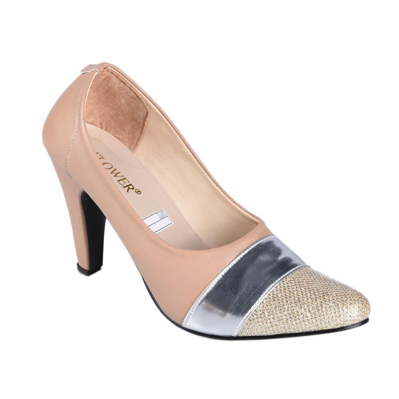 RSM SN-152 Sepatu High Heels Wanita - Coklat