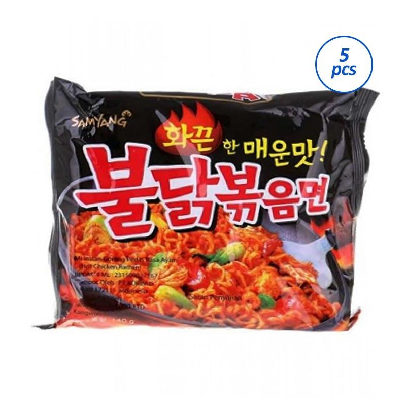 Samyang Spicy Chicken Ramen 1 Pack Noodles [5 pcs]