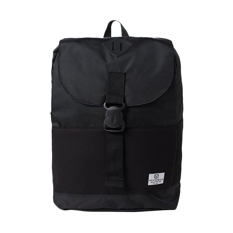 Woodbags Backpack Osaka - Massive Black