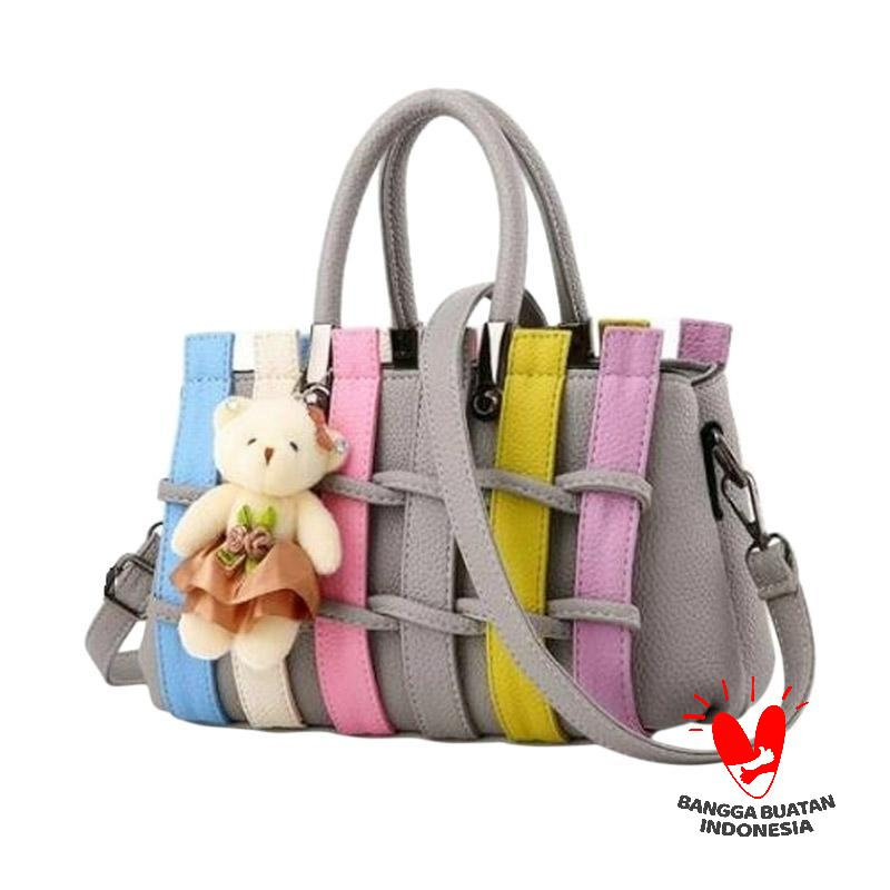 Annies Fashion Iveth Tas Wanita - Grey