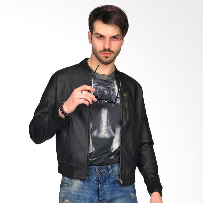 SJO & SIMPAPLY Tarfilo Skin Men's Jacket - Black