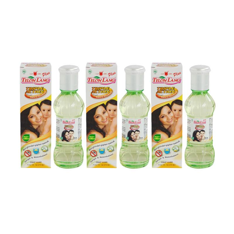 Caplang Minyak Telon Plus [100mL/Isi 3pcs]